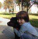 Лабрадор и ребенок